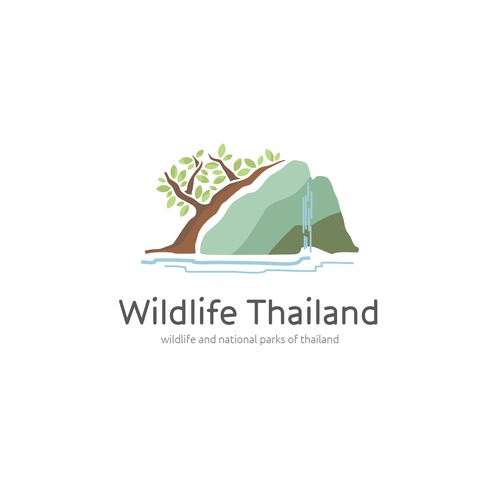 Logo concept for site about Thailand