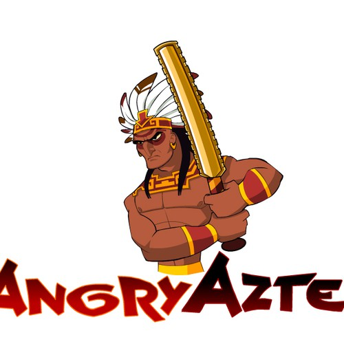 New character-based logo wanted for Angry Aztec