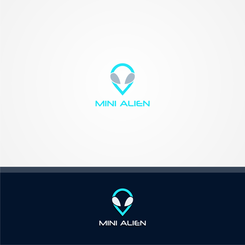 Create an iconic logo for Mini Alien ( Tech Brand looking for elegant yet fun logo)