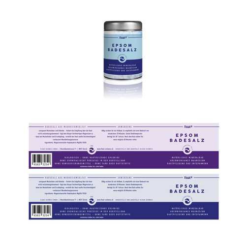 Badesalz Packaging