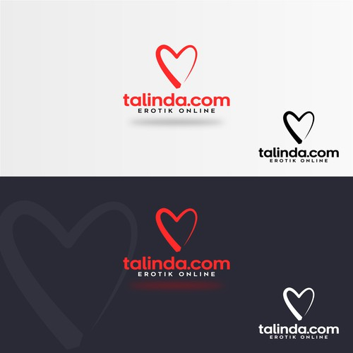 Concept logo designed for talinda.com