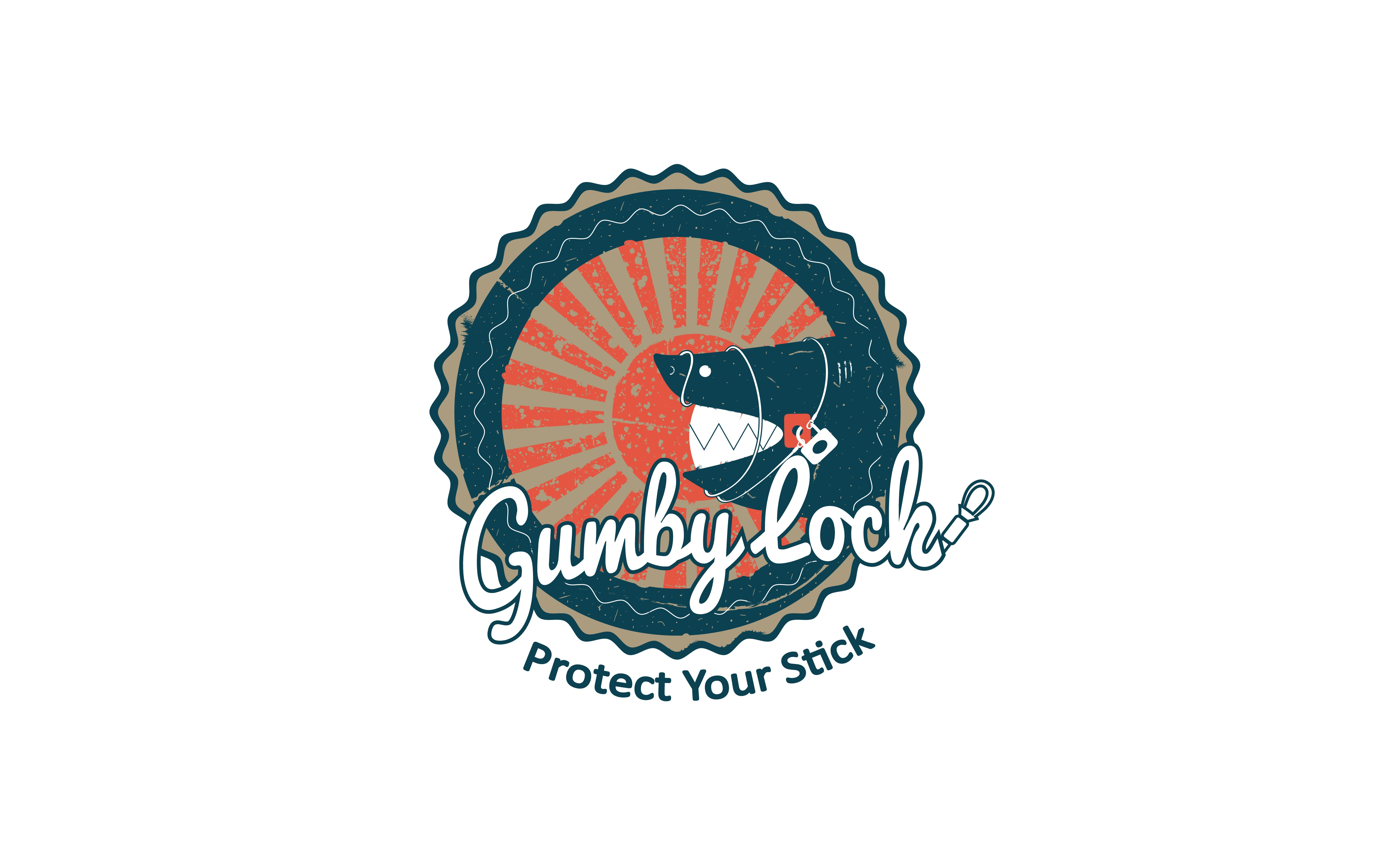Fun, bright and lively logo for a surfboard lock. EDIT: Perhaps with a vintage/retro surfing feel?
