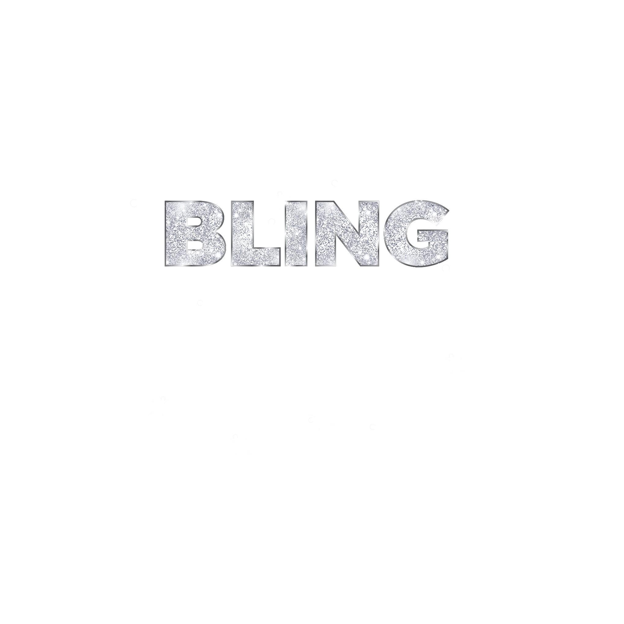"""Tee Shirt Logo - """"Bling Fixes Everything"""""""