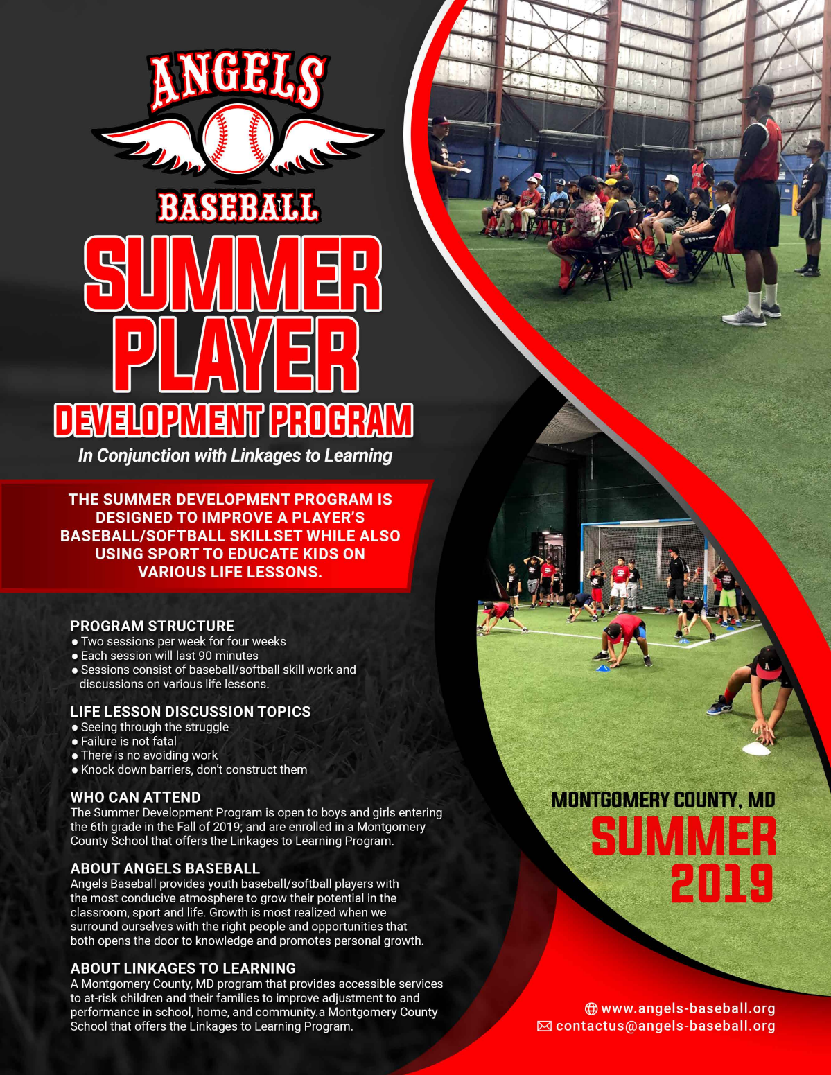 Angels Baseball - Summer Development Program