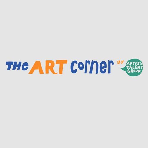 Logo concept for art store