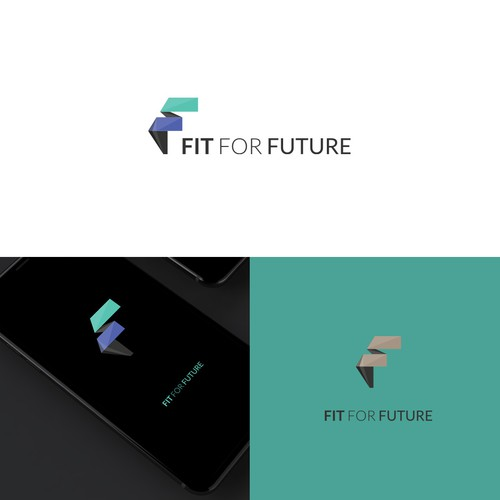 logo design for B2B division and Pension
