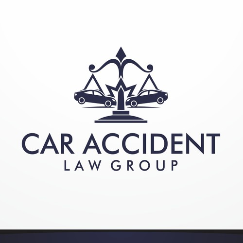 Logo design for Car Accident Law Group