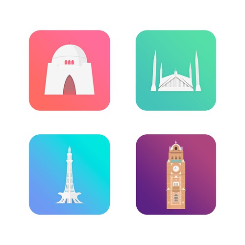 Pakistan Cities Iconography