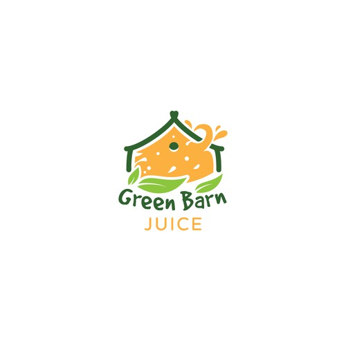 Logo concept for a drive through that serves juice