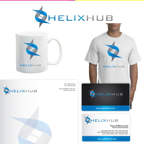 Create the next logo for HelixHub