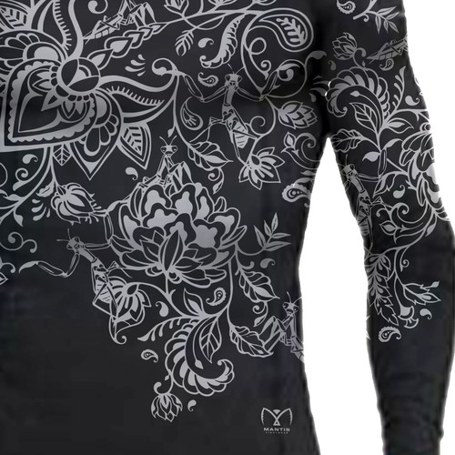 Stylish Rash Guard for Mantis Fightwear