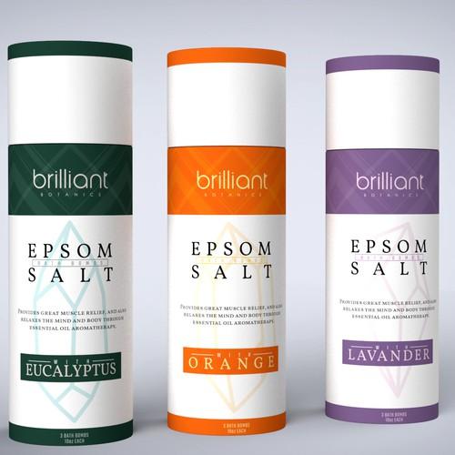 Epsom salt packaging