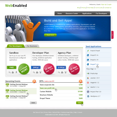 WebEnabled.com Home Page
