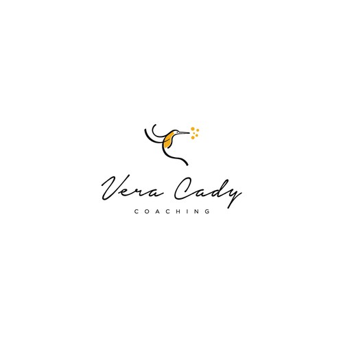 Concept design a minimalistic feminine logo for a mindset coach that works with female executives