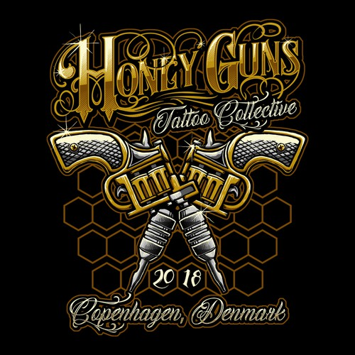 Design For Honey Guns Contest