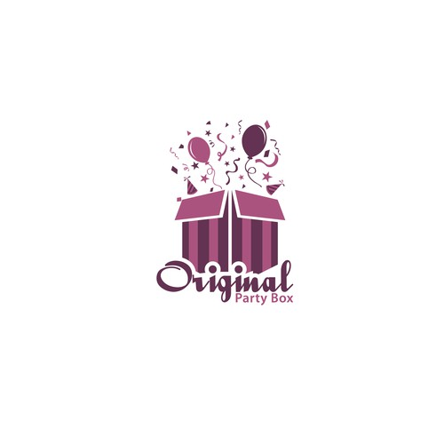 "Logo Design For ""Original Party Box"""