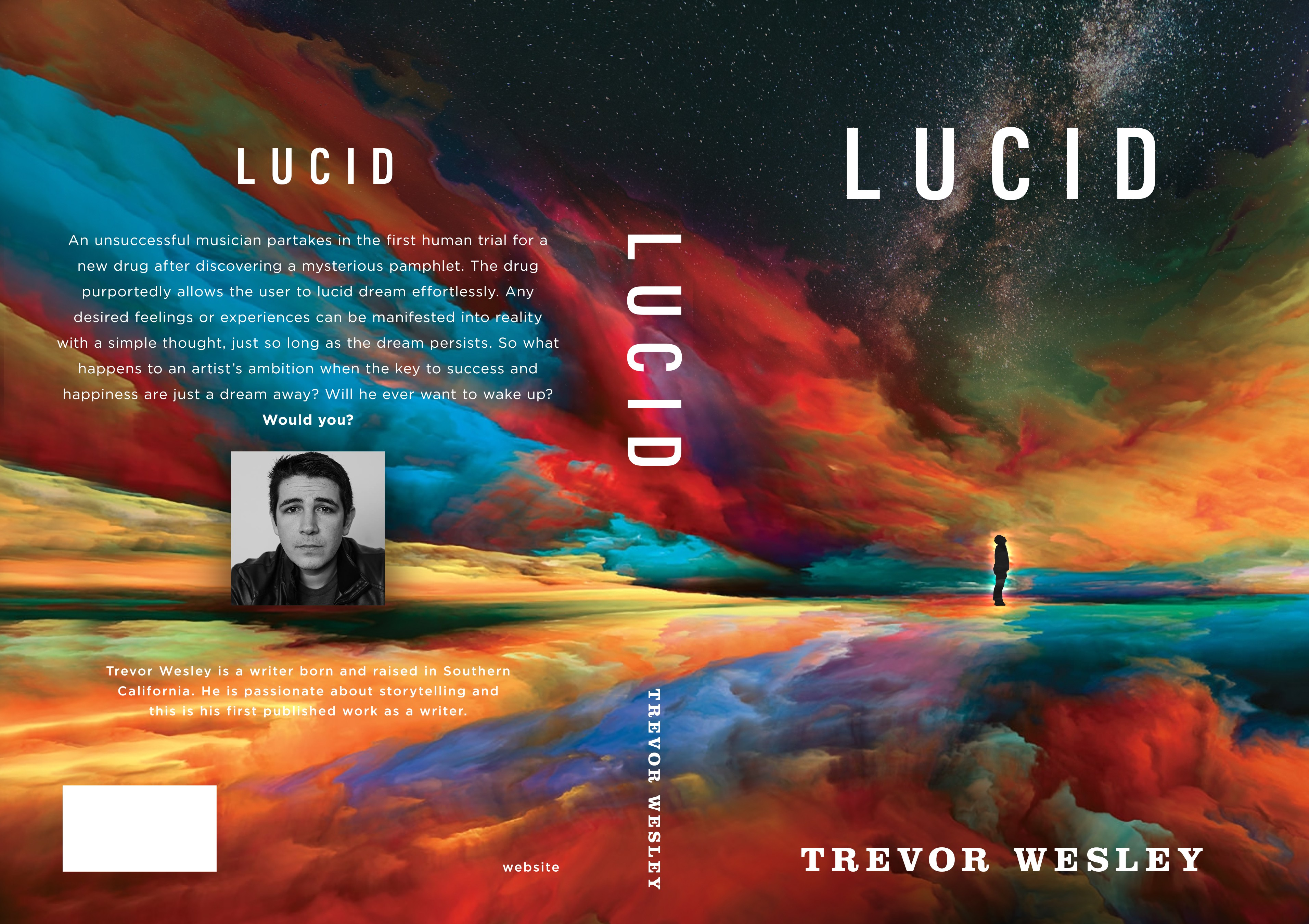 Design a cover for a book that visualizes what creativity looks like