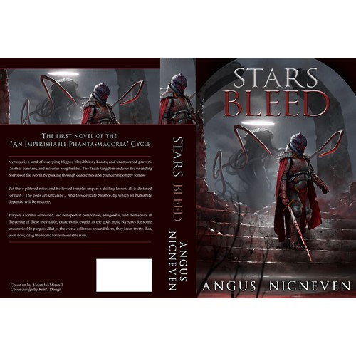 "Cover Design for ""Stars Bleed"" by Angus Nicneven"