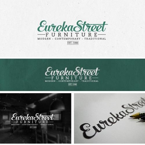 Logo concept for Eureka Street Furniture