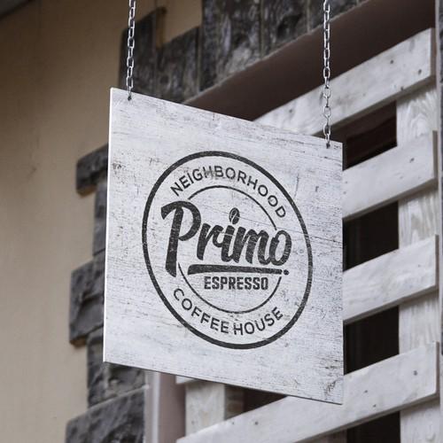 Logo Concept for Primo Coffee House
