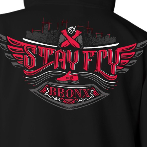 STAY FLY - Apparel Design