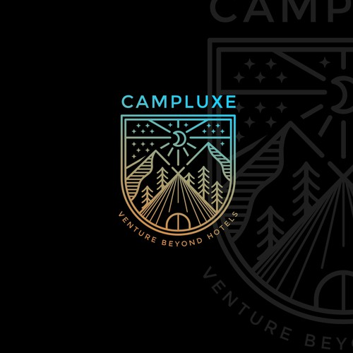 CAMPLUXE Luxury Camping Logo