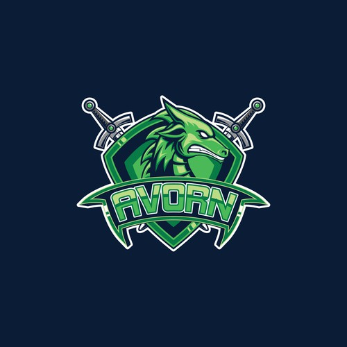 Logo for Twitch Gaming Streamer