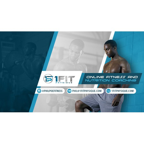 Online Fitness & Nutrition Coach Facebook Cover
