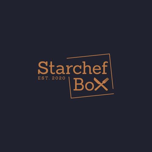 Starchef Box Logo Design