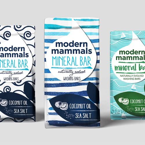 modern mammals Mineral bar