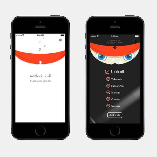 Bold ninja blocker app