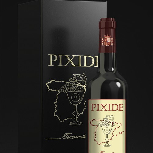 Create Spanish Wine Label