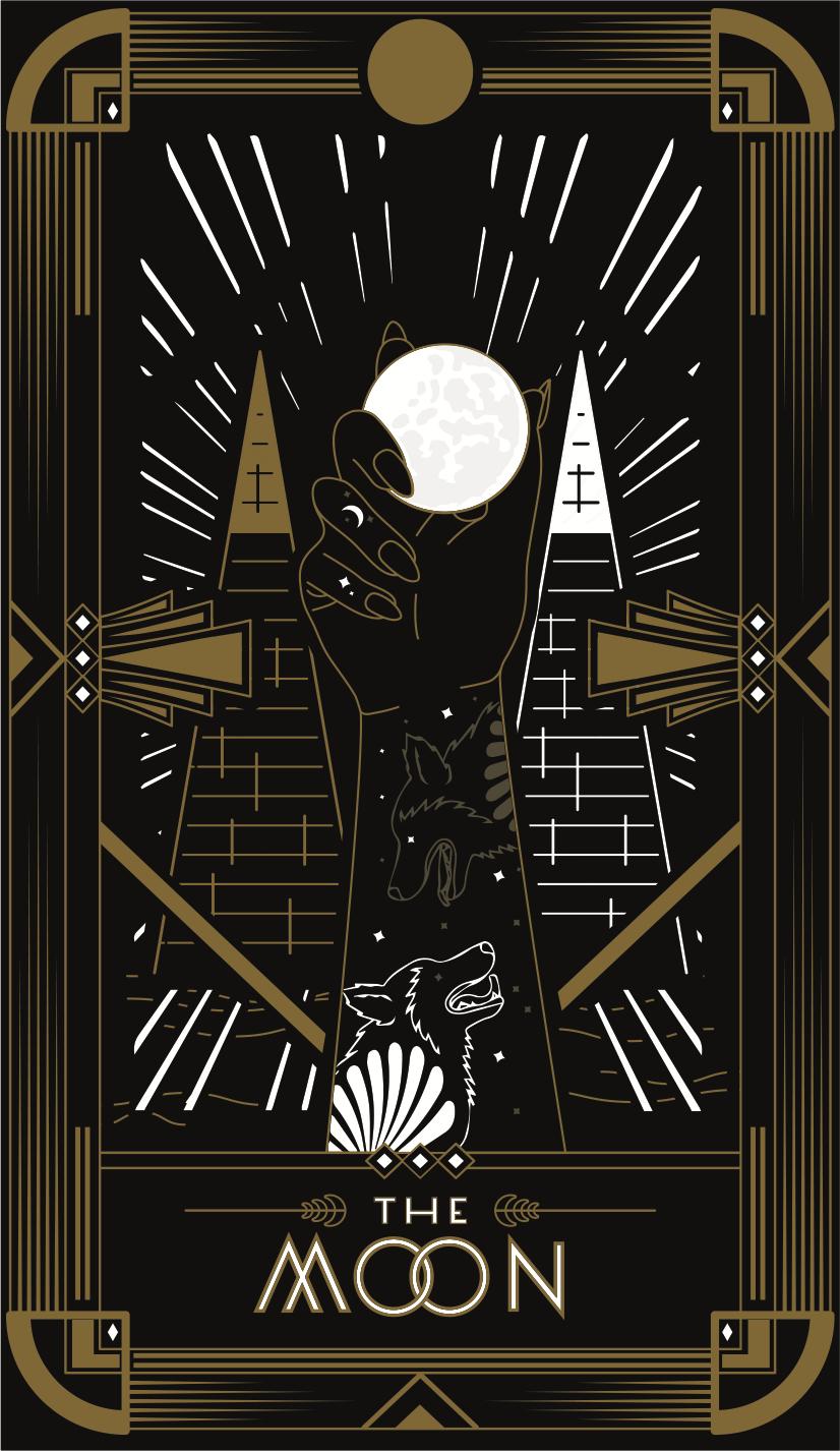 Tarot Card T-shirt Design