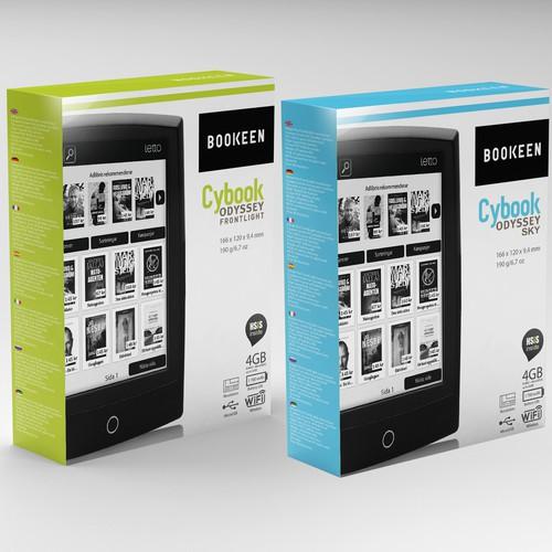 Packaging Design for an EBOOK READER