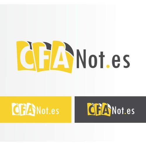 Create the next logo for CFA Notes