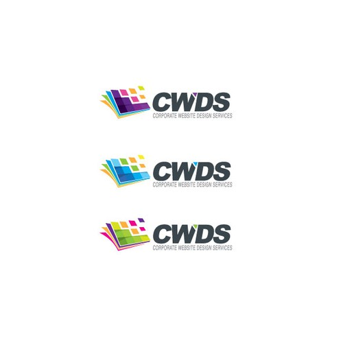 Logo for fun new start-up cwdservices.com (Corporate Web Design Services)