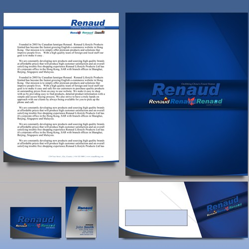 Brand and stationary package