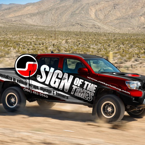 Create our next vehicle wrap design!