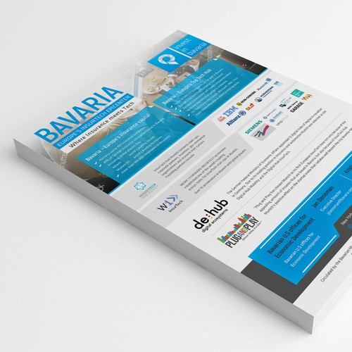 powerful 'OnePager' design for Bavaria
