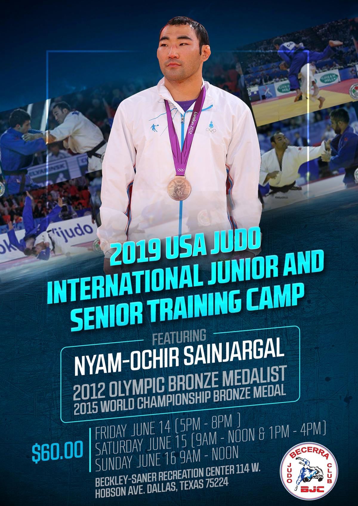Judo Camp Poster