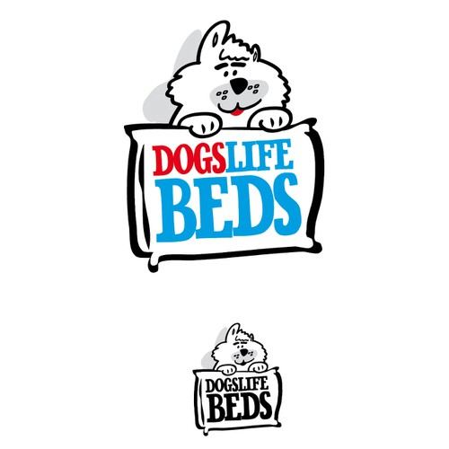 dogslife beds needs a new logo
