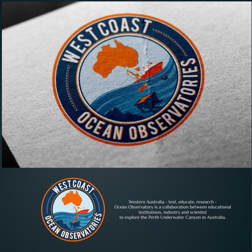 In contest Ocean Observatory logo