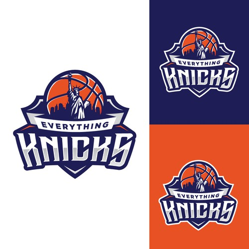 Everything Knicks is a brand catered towards the New York Knicks (NBA Basketball Team) and it's fan base.