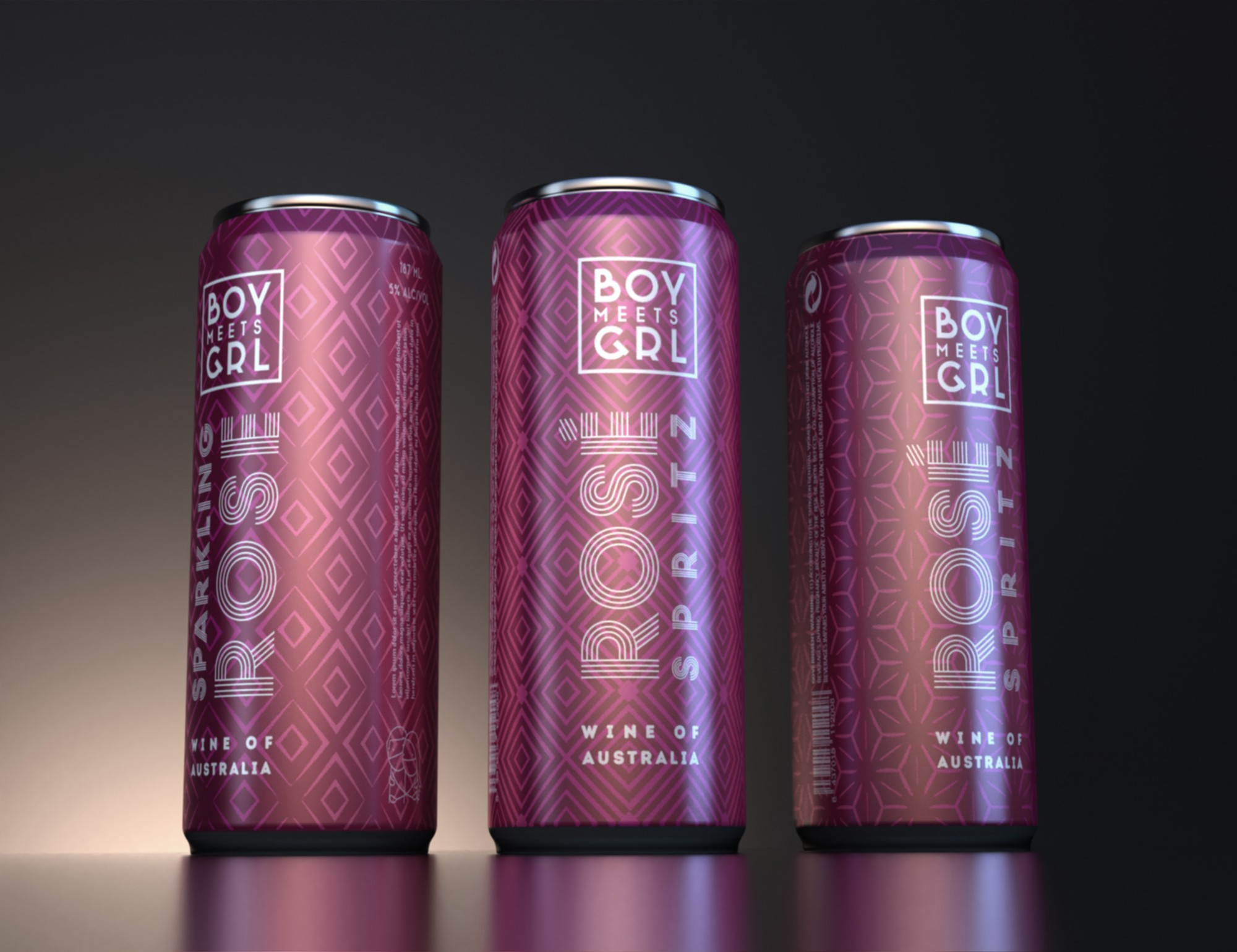 Needed: A modern, funky 'wine in a can' design