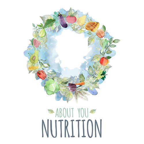 Non-minimalist organic design for nutrition company.