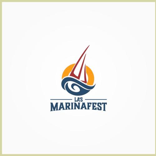 Logo for LA Marina Festival..