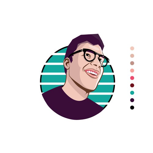 Character Illustration for a Tech Savy Channel