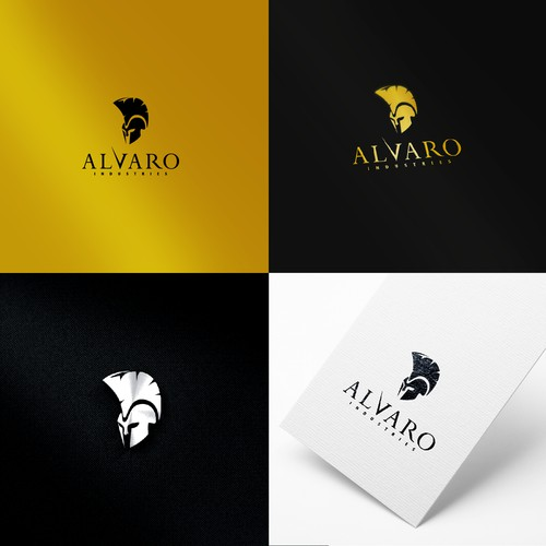 Logo concept for Alvaro