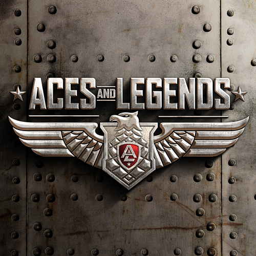 Logo design for Aces and Legends