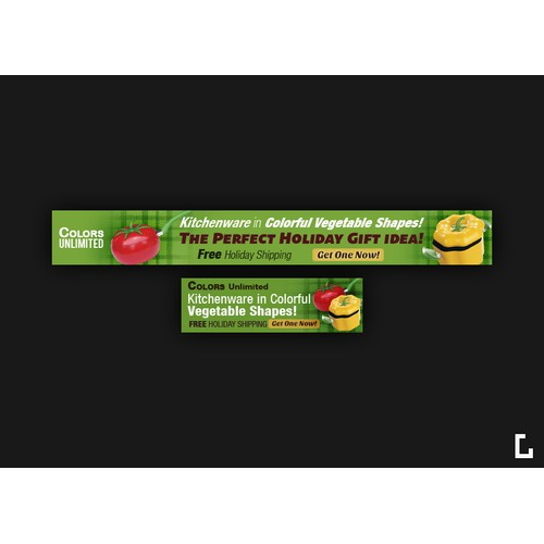 Banner Ad Design for Colors Unlimited